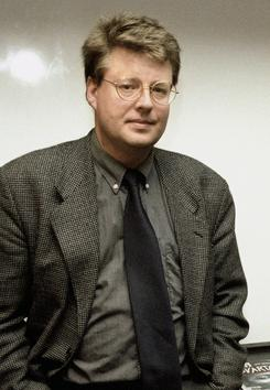 Larsson: The Swedish journalist and author died in 2004, but his works live on among fans around the world.