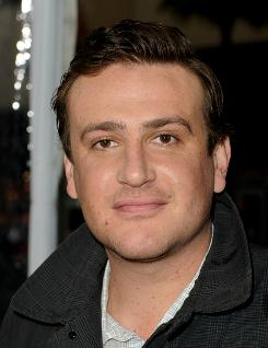 Actor Jason Segel arrives at the premiere of 20th Century Fox's 'Gulliver's Travels' at the Chinese Theater in Los Angeles.