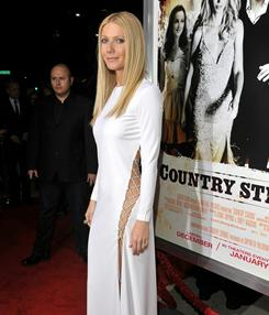 Gwyneth Paltrow at the Country Strong premiere Dec. 14.