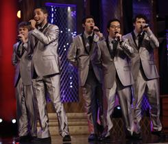 The Backbeats were among the acts competing on NBC's The Sing-Off.