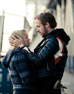 A dying love: The happiness slowly seeps out of Dean (Ryan Gosling) and Cindy's (Michelle Williams) marriage.