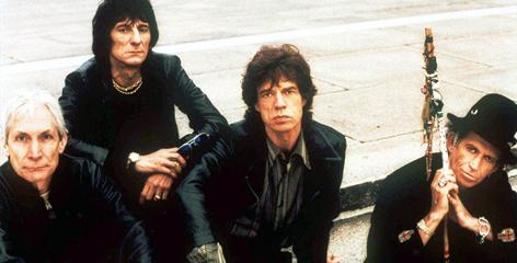 Leaders of the rebellion: The Rolling Stones' Charlie Watts, left, Ron Wood, Mick Jagger and Keith Richards created a sensation among Baby Boomers.