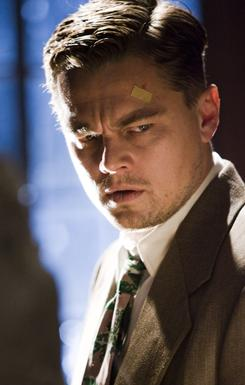 Busy: Leonardo DiCaprio played a 1950s-era cop in Shutter Island and a stealer of dreams in Inception.