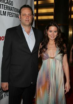 Vince Vaughn and his wife Kyla Weber welcomed daughter Locklyn Kyla on Dec. 18.