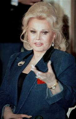 Zsa Zsa Gabor is being treated for gangrene.