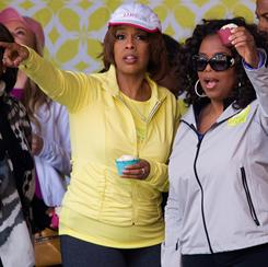 "Speculation that Gayle King and Oprah Winfrey are  gay is ""just silly to me,"" King says."