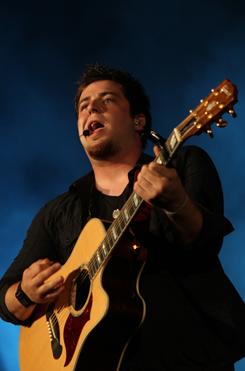 Lee DeWyze, last season's winner, had no big radio hit and only 100,000 in sales since release in November.