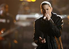 Eminem's Recovery was 2010's top  album, too.