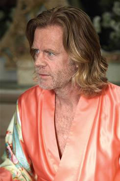 Deadbeat dad: William H. Macy plays an unapologetic alcoholic.