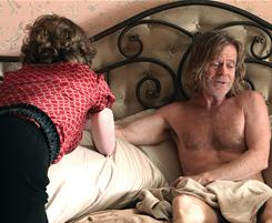 Compromising position: Sheila (Joan Cusack) and Frank (William H. Macy) aren't model parents.