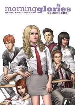 What's the story, Morning Glories?: The comic-book series by Nick Spencer, Joe Eisma and Rodin Esquejo broke through last fall. The latest edition arrives Jan. 19.