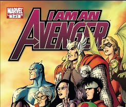 Cover image to 'I AM AN AVENGER' issue #5