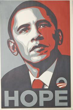 "Copyright lawsuits between the Associated Press and artist Shepard Fairey, who created the iconic ""HOPE"" poster  for President Obama's election campaign, have been dismissed, but a March trial on claims related to companies that profited from the image will go forward."