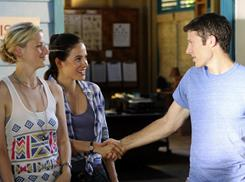 Young doctors in love, or soon to be: Mamie Gummer, left, Caroline Dhavernas and Zach Gilford star in ABC's Off the Map, the latest show from Grey's Anatomy creator Shonda Rimes.
