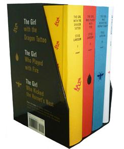 Stieg Larsson's trilogy took the top three spots in the list of best-selling titles in 2010.