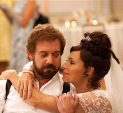 The middle wife: Selfish Barney (Paul Giamatti) marries three women, the second of whom is played by Minnie Driver.