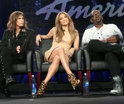 A revamped lineup: Steven Tyler and Jennifer Lopez have joined American Idol for its 10th season. Randy Jackson, right, is the only original judge who is still on the USA's top-rated television show.