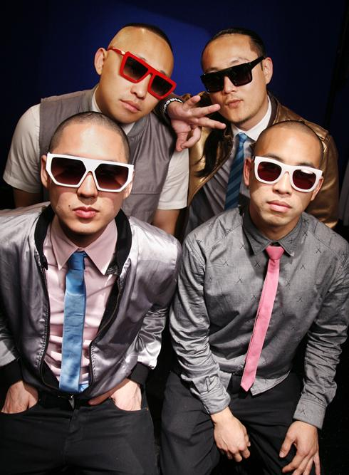 Far East Movement: Prohgress, clockwise from top left, J-Splif, DJ ...