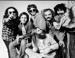 You could be playing with the band: Jerry Garcia, left, with Grateful Dead bandmates Bob Weir, Phil Lesh, Brent Midland  (seated), Bill Kreutzmann and Mickey Hart in the mid-1980s. Garcia died in August 1995.