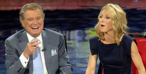 Regis Philbin landed his morning TV show in New York in 1983. Kelly Ripa joined him in 2000 after co-host Kathie Lee Gifford left the show. 