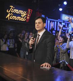 """Live starting at midnight: """"The earlier you're on, the better,"""" says Jimmy Kimmel, whose show will be six minutes longer beginning Feb. 3 as part of his contract extension."""