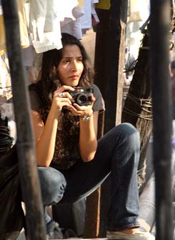 Back to her roots: Monica Dogra plays Shai, an American of Indian descent who comes to Mumbai on a sabbatical.