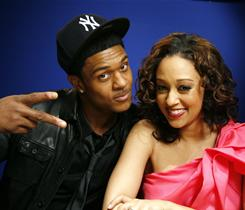 Pooch Hall and Tia Mowry star in The Game, which set a cable record on its new home, BET.