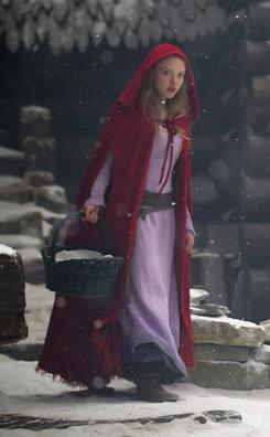 Girl in the hood: Amanda Seyfried stars as Valerie in Red Riding Hood.