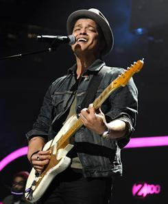 """There's no formula to it"": Bruno Mars, 25, has found multiple levels of pop success in a relatively short amount of time."