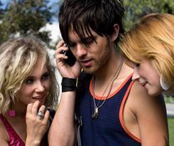Juno Temple, left, Thomas Dekker and Haley Bennett find that something is amiss in a seemingly idyllic California coastal town in the comedy/thriller Kaboom.