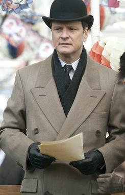 Seems like a sure thing: An Oscar for Colin Firth for The King's Speech seems almost assured.