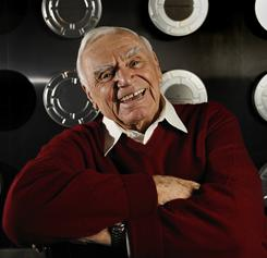 Still going strong: Ernest Borgnine, who broke out in 1953's From Here to Eternity, starred in last year's RED.