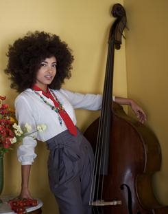 Upright, everything's all right: Jazz bassist/singer Esperanza Spalding's latest album is Chamber Music Society.