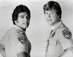 Larry Wilcox co-starred with Erik Estrada in the popular cop series ChiPs.