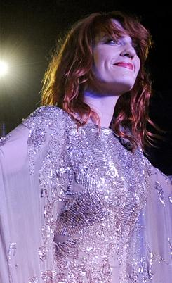 """Unbelievable"": Florence Welch and her band The Machine will play Elton John's annual Oscar night gala on Feb. 27."