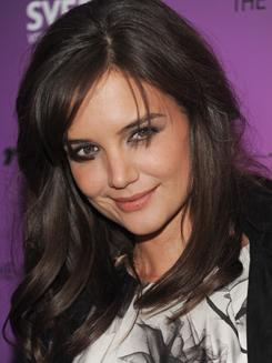 Katie Holmes portrays Jackie Kennedy in the controversial miniseries The Kennedys, which will air on ReelzChannel in April