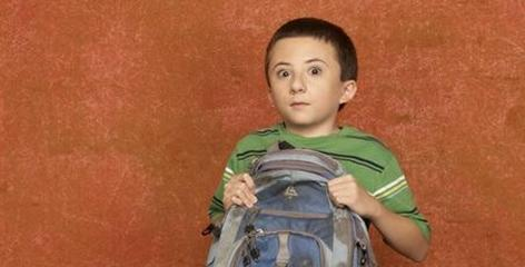 Atticus Shaffer: Brick is stuck in The Middle.