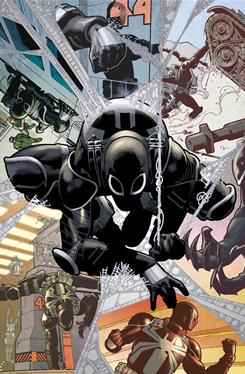 Flash Thompson is revealed as the new Venom in Amazing Spider-Man issue 654, in stores tomorrow.