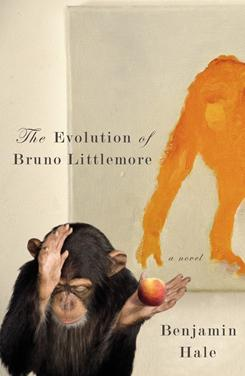 'The Evolution of Bruno Littlemore' by Benjamin Hale is a fantasy novel about a chimp with disturbingly human tendencies.