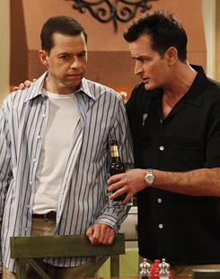 Two and a Half Men: Jon Cryer and Charlie Sheen star in TV's top-rated comedy, which could fetch $1 billion in syndication.
