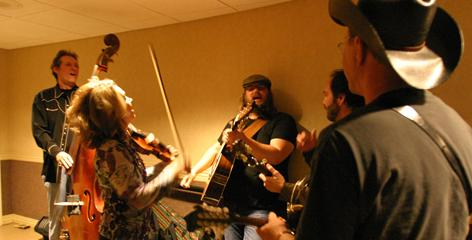 The Nashville band SteelDrivers will vie for bluegrass album and country duo/group performance for Reckless.