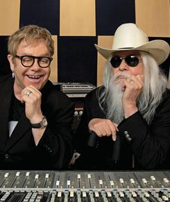 Elton John and Leon Russell collaborated on pop single 'If It Wasn't for Bad.'