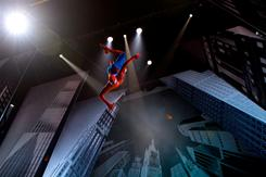 Musical Spider-Man: Turn Off the Dark is in previews now. It opens March 15.