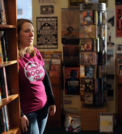 Owner Suzanna Hermans is about to enlarge Oblong Books in Rhinebeck, N.Y. She says the independent store emphasizes community.