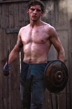 No shirt, no sandals, no service: Jamie Bell, who co-stars in the Roman-themed film The Eagle, has come a long way since Billy Elliot catapulted him to fame.