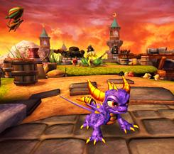 The Skylanders Spyro is not the dragon of the original PlayStation game of 1998.