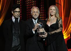 Prince, National Academy of Recording Arts and Sciences President Neil Portnow and Barbra Streisand were among the big names in music at Friday's MusiCares Person of the Year Tribute.