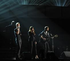 Lady Antebellum performs at the 2011 Grammy Awards on Sunday night in Los Angeles.