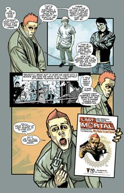 Last Mortal, debuting in May from Top Cow, is written by longtime friends Filip Sablik and John Mahoney.