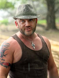 Previous contestant Russell Hantz isn't worried about this season's twist, which sends castoffs to Redemption Island to await a chance to return.